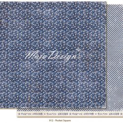 """Pocket Square"" från Denim & Friends av Maja Design"